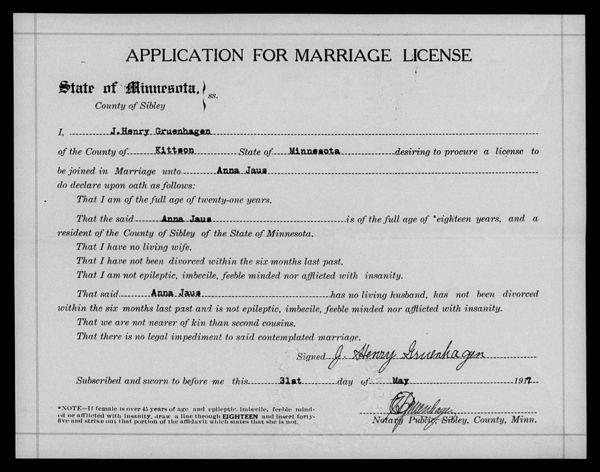 Wedding of Anna Jaus and Henry Gruenhagen - CowTales